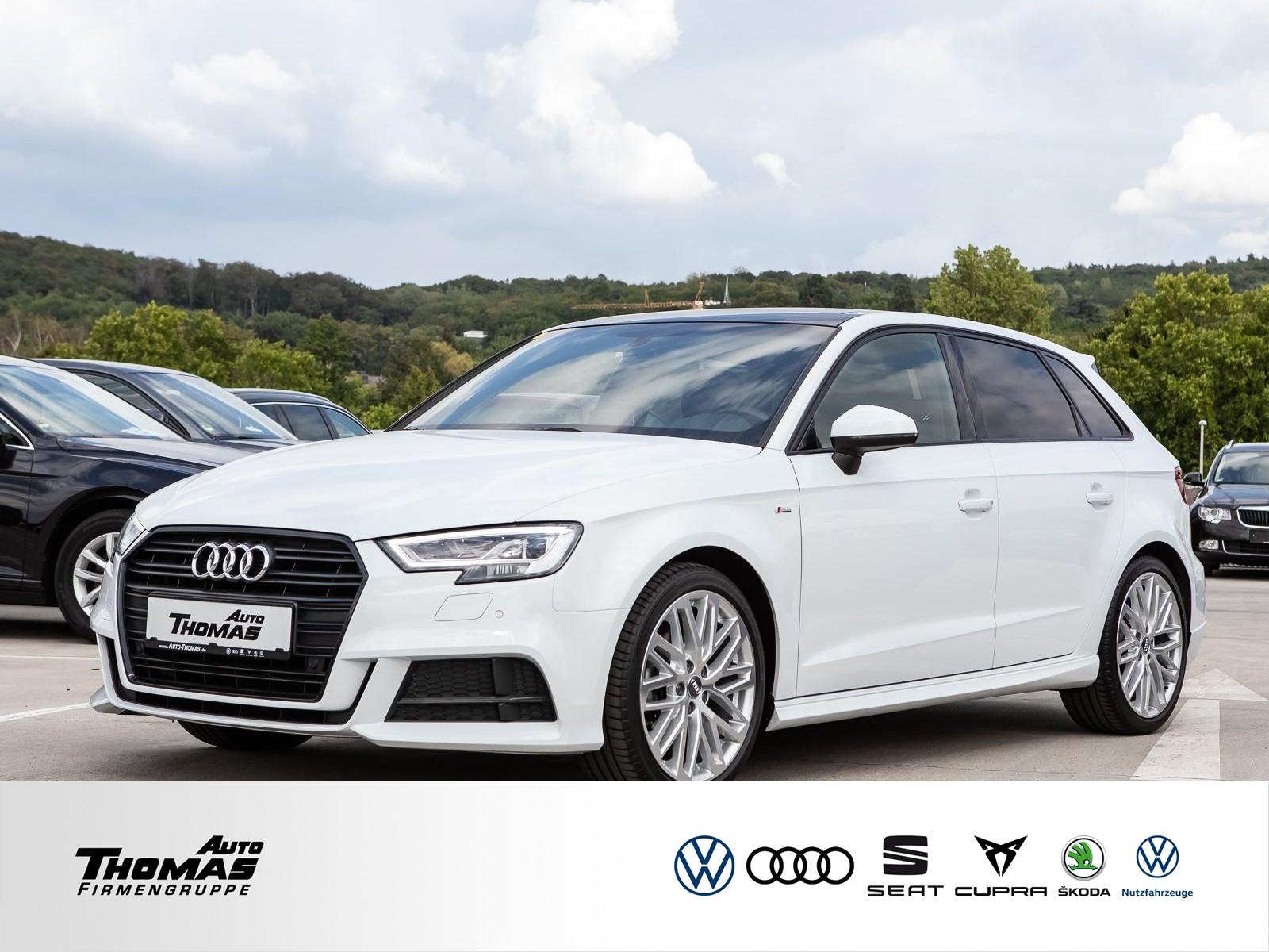 "Audi A3 Sportback ""S line"" 1.5 TFSI LED+NAVI+PDC+PANO, Jahr 2017, petrol"