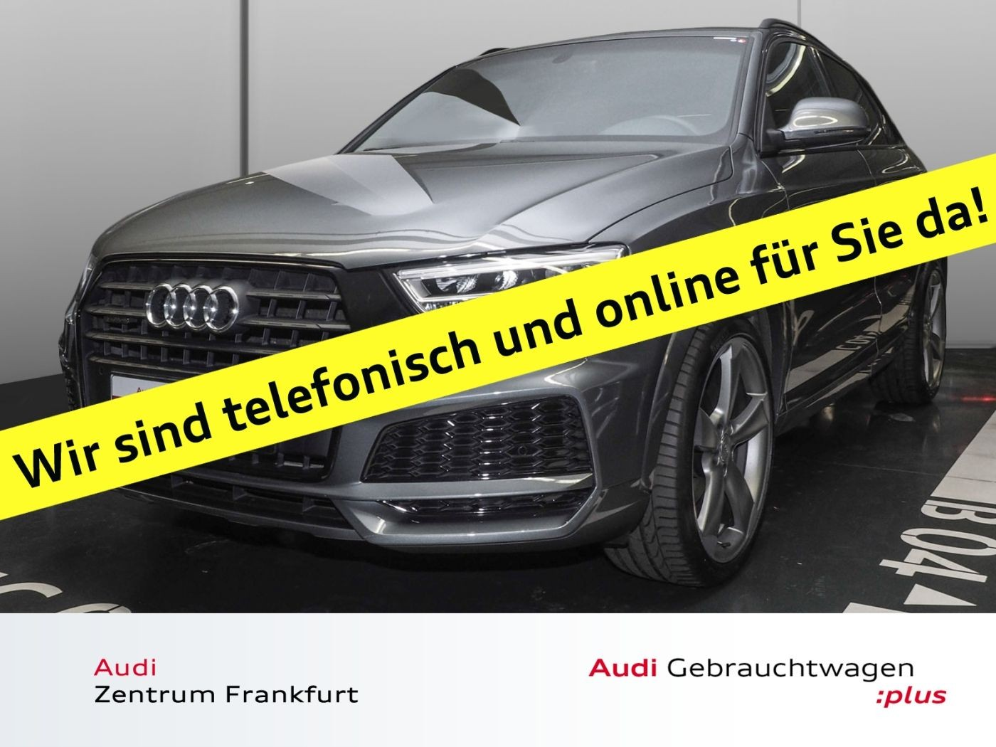 Audi Q3 2.0 TFSI quattro S tronic S line design Navi LED Sitzheizung PDC Panorama, Jahr 2017, Benzin