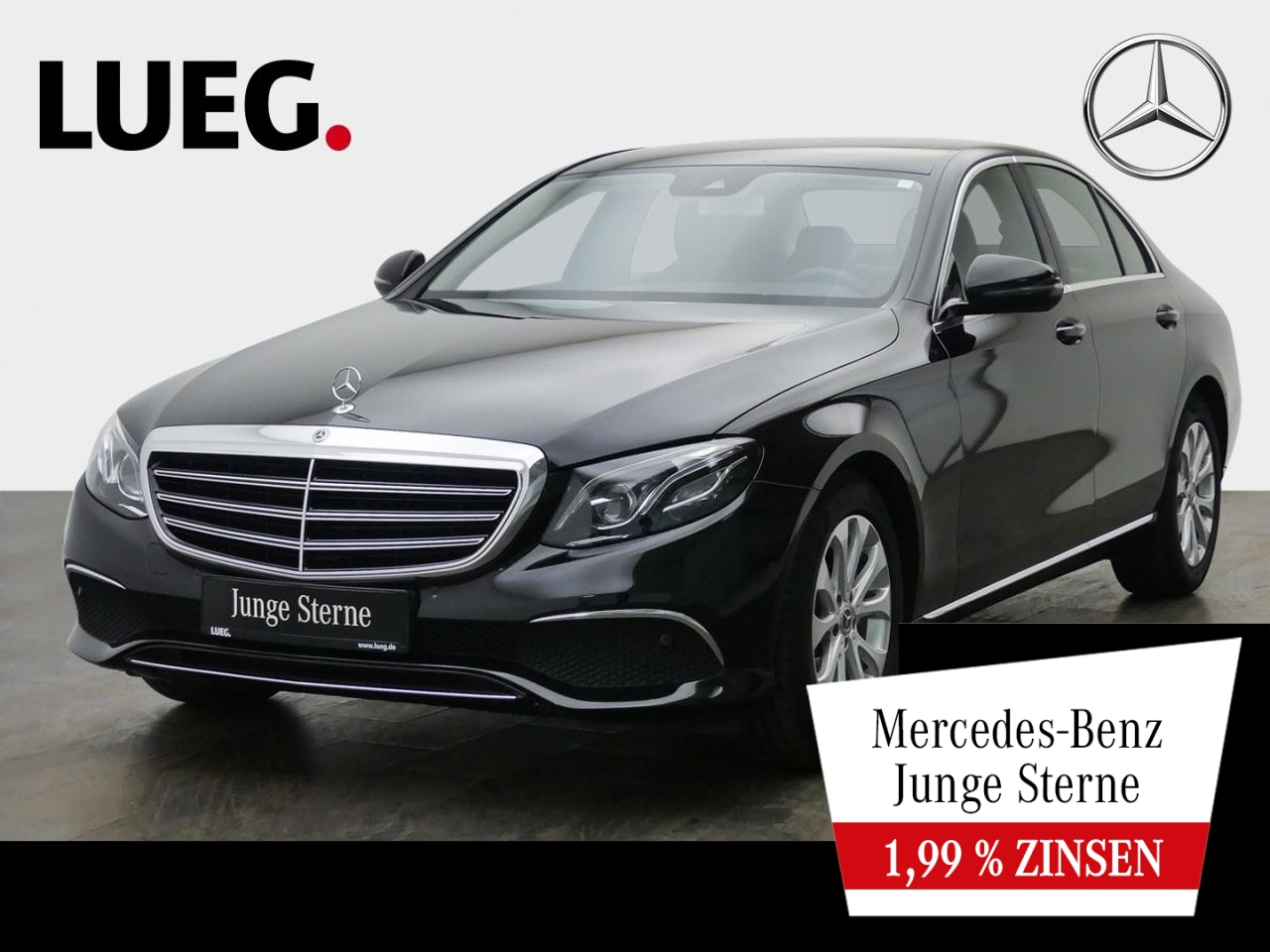 Mercedes-Benz E 200 Exclusive+Navi+Mbeam+Totw+CarPl+ParAss+RFK, Jahr 2019, Benzin