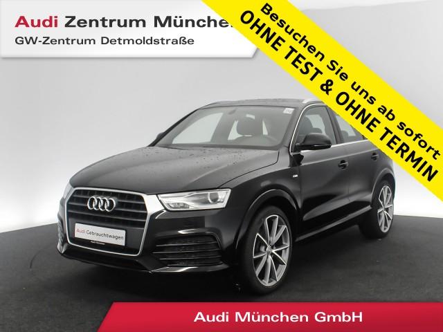 "Audi Q3 1.4 TFSI Sport S line 20"" Teilleder Navi Xenon PDC S tronic, Jahr 2018, petrol"