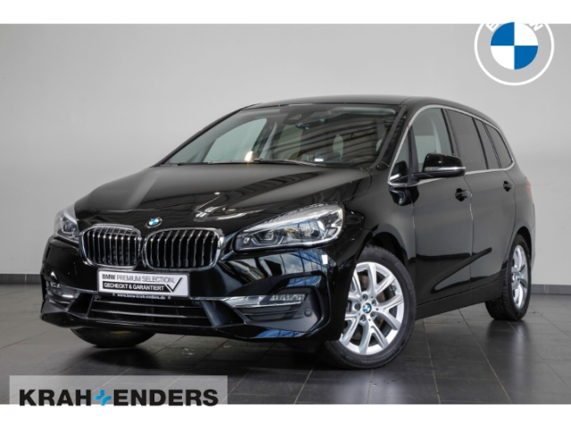 BMW 220 Gran Tourer d xDrive Luxury Line+HUD+ACC+LED, Jahr 2018, Diesel