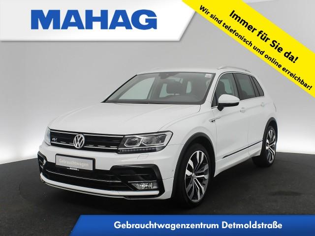 Volkswagen Tiguan 2.0 TSI 4mot. R line Ext. Highline Navi LED AHK Kamera ActiveInfo Sprachbed. 20Zoll DSG, Jahr 2016, Benzin