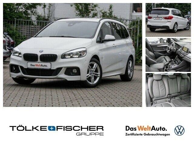 BMW 218 Gran Tourer i M Sport Navi Rückfahrkam. Panorama LED-Tagfahrlicht Multif.Lenkrad RDC, Jahr 2015, Benzin