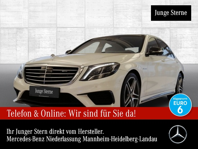 Mercedes-Benz S 63 AMG 4M Lang Pano Keramik Drivers Pack Exkl., Jahr 2017, Benzin