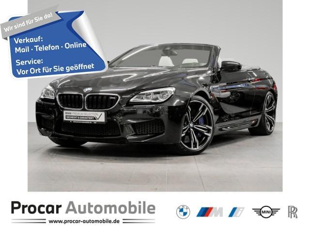 BMW M6 Cabrio M DKG Navi Prof. EDC Head-Up PDC, Jahr 2018, Benzin
