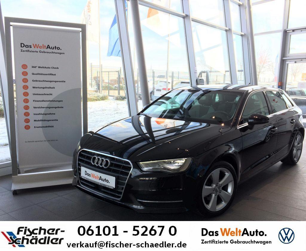 Audi A3 Sportback Ambition 2.0TDI*Automatik*LED*AHK*N, Jahr 2016, Diesel