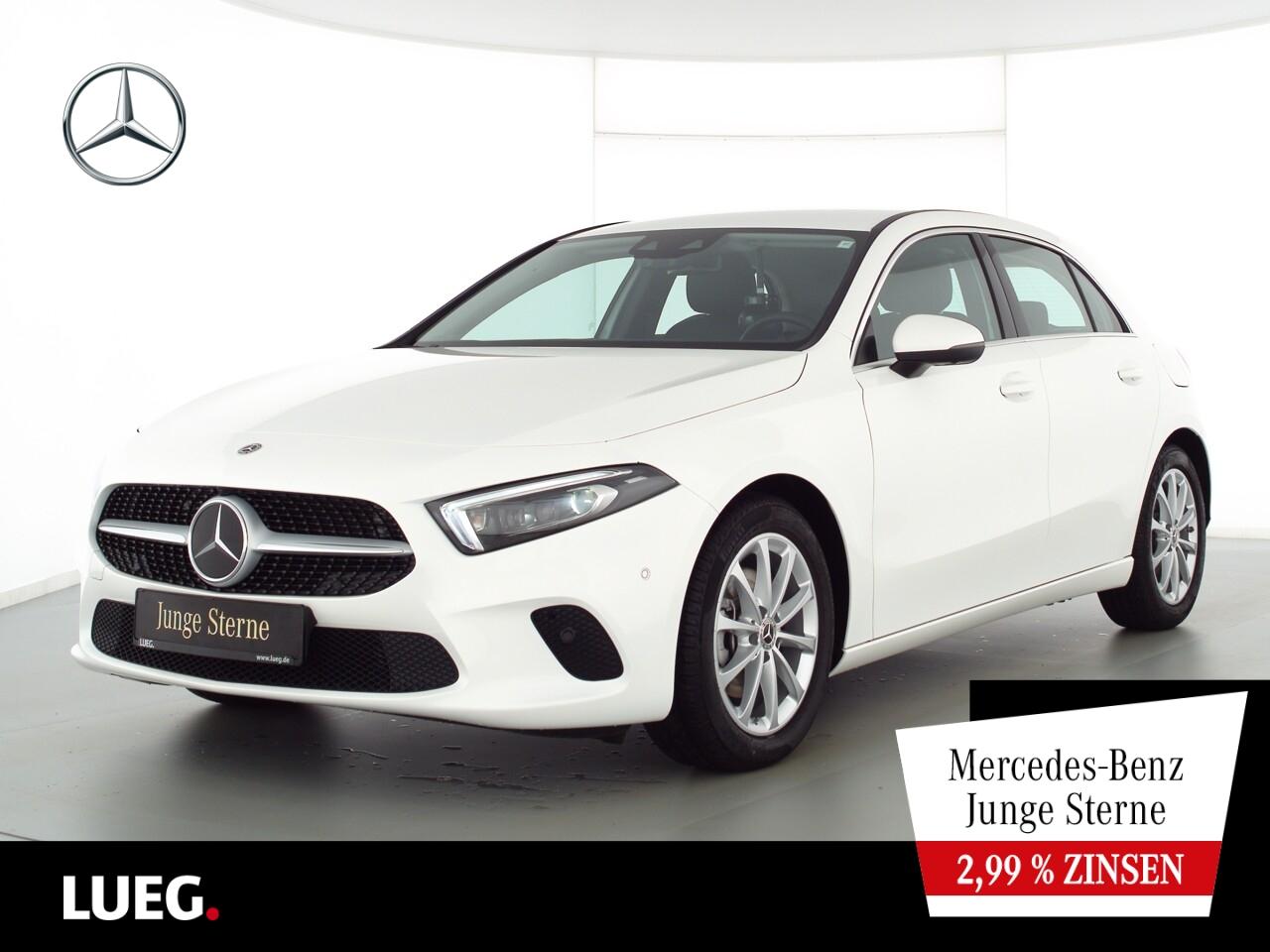 Mercedes-Benz A 200 Progressive+MBUX+NavPrem+Mbeam+FahrAss+360, Jahr 2020, Benzin