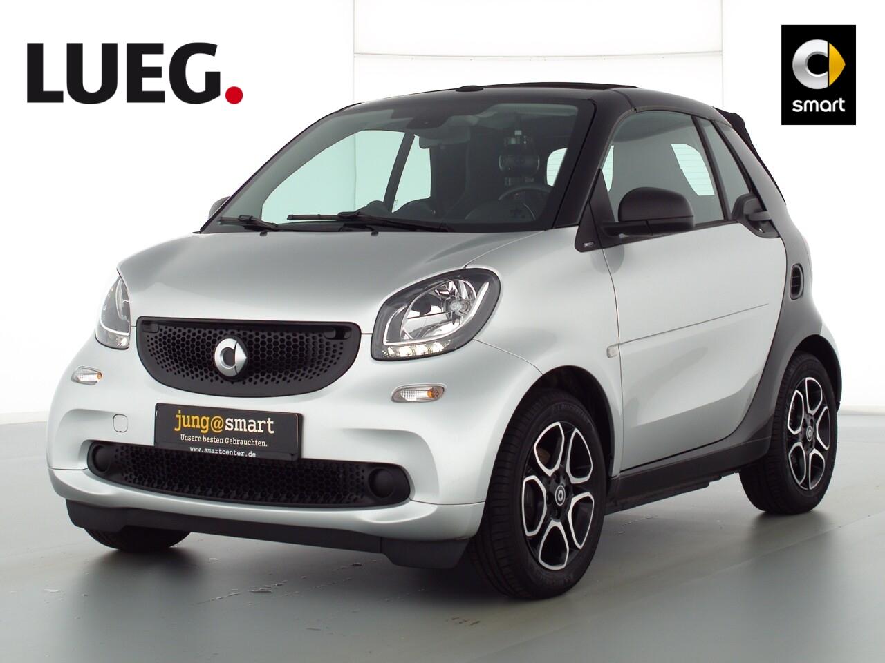 smart fortwo cabrio 52kW (71 PS) passion Cool u. Audio, Jahr 2018, Benzin
