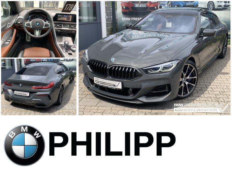 BMW M850i xDrive GranCoupé Laser B&W Pano MCarbon, Jahr 2020, Benzin