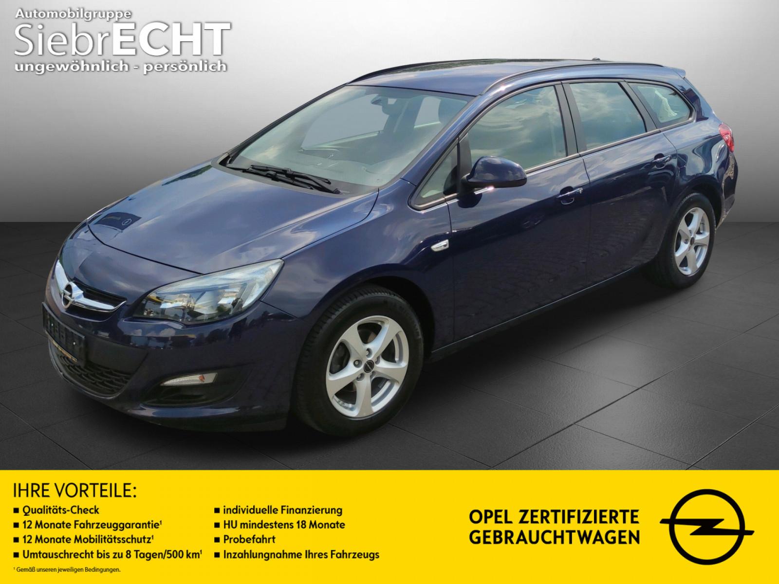 Opel Astra Selection 1.6*Radio*CD Player*Klima, Jahr 2016, Benzin