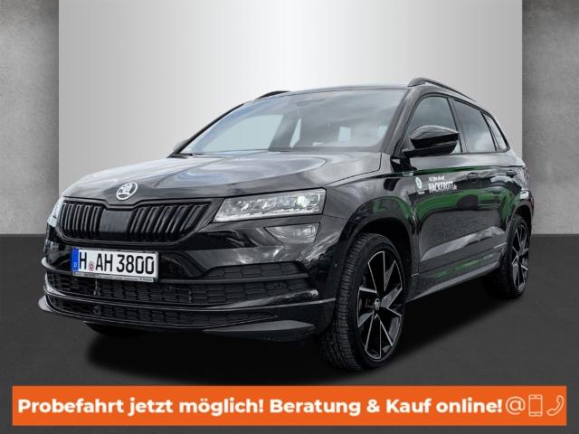 Skoda Karoq Sportline 4x4 2.0 TDI Navi Keyless ACC Parklenkass. Rückfahrkam. Allrad Fernlichtass., Jahr 2018, Diesel