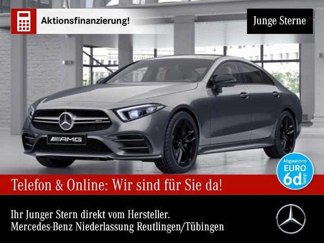 Mercedes-Benz CLS 53 4MATIC Sportpaket Navi LED Vollleder Klima, Jahr 2019, Benzin