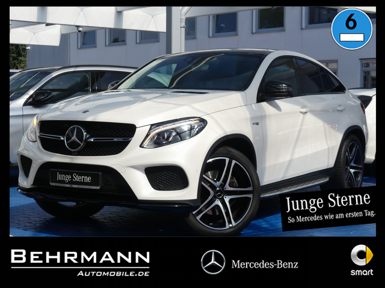 Mercedes-Benz GLE 43 AMG Coupe +360°Kamera+Distronic+Panorama+, Jahr 2018, Benzin