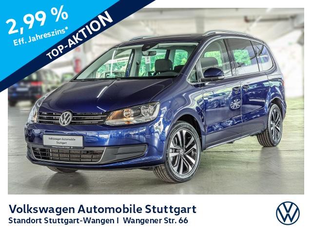 Volkswagen Sharan United 2.0 TDI DSG 7-Sitze Navi AHK ACC, Jahr 2020, Diesel