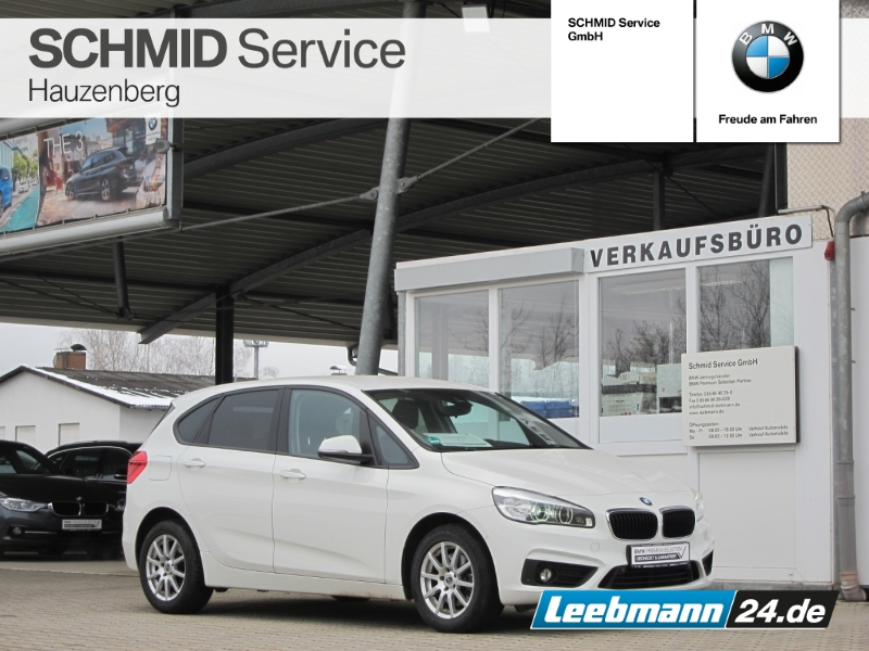 BMW 220d Active Tourer Aut. Adv. AHK 2 JAHRE GARANTI, Jahr 2016, Diesel