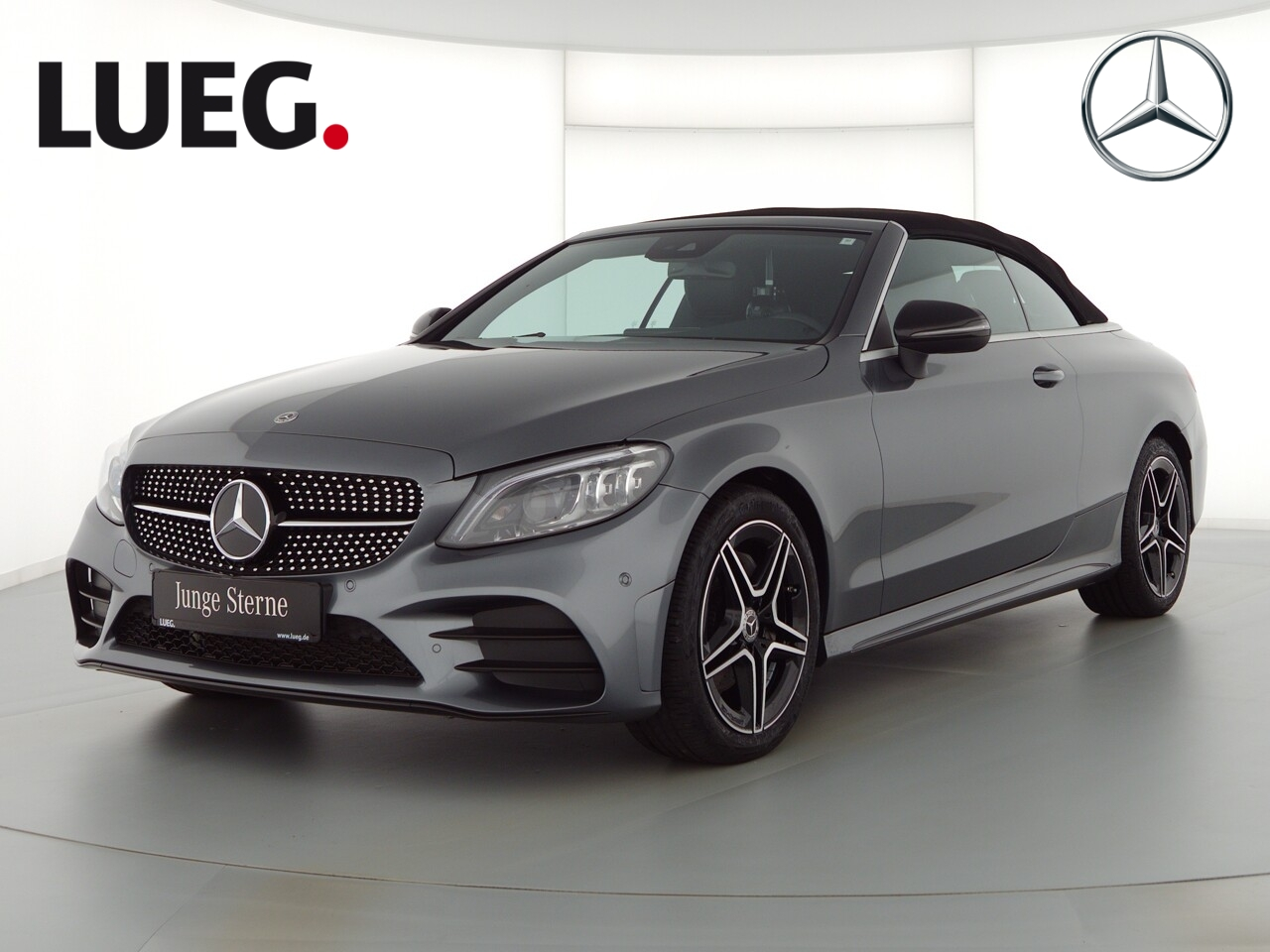 Mercedes-Benz C 220 d Cabrio AMG+Night+LED+AHK+Kamera+Navi+PDC, Jahr 2020, Diesel