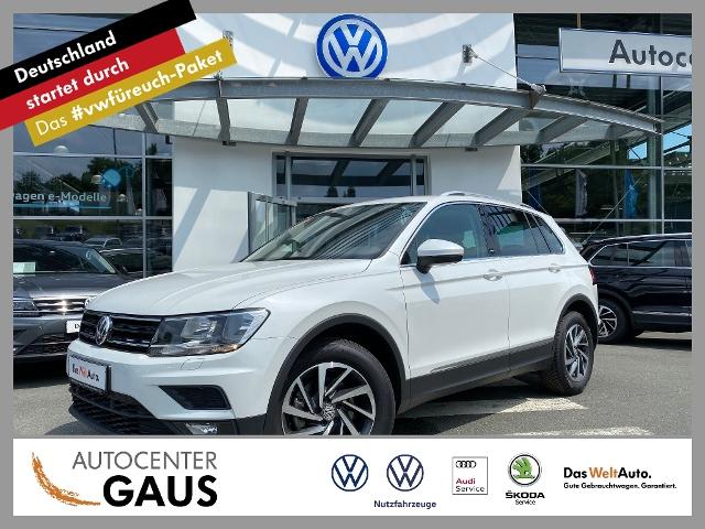Volkswagen Tiguan Sound 2.0 TDI AHK Navi ACC Klima, Jahr 2018, Diesel