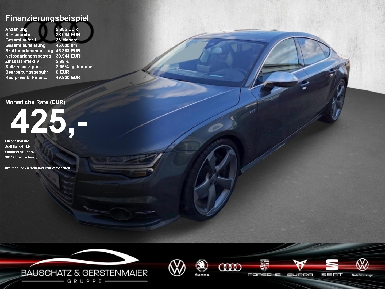 Audi S7 Sportback 4.0 TFSI qu Standheizng Schiebedach, Jahr 2017, Benzin