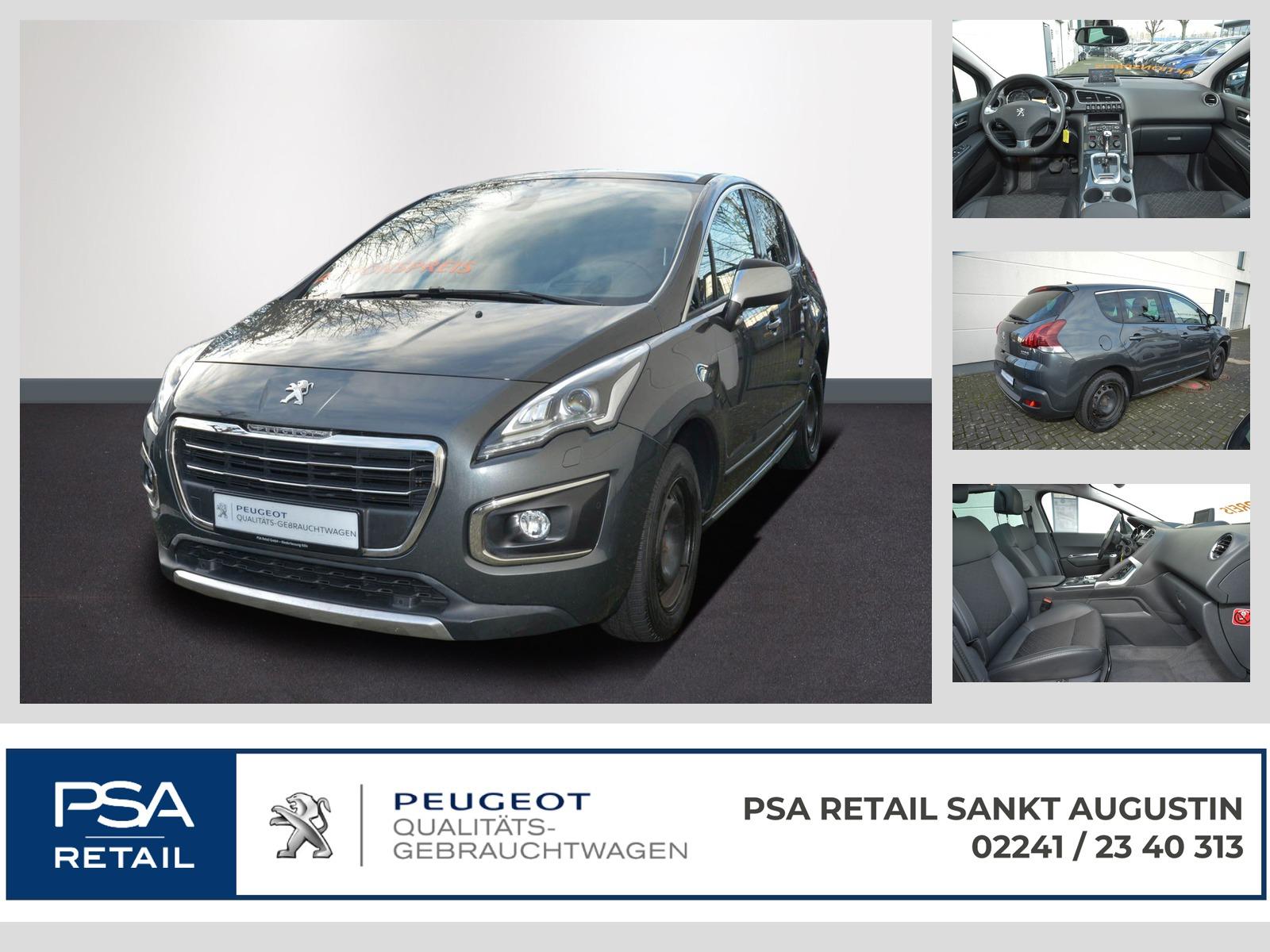 Peugeot 3008 Allure HDi FAP 160 Autom. Navi Xenon SHZ GDach, Jahr 2015, Diesel