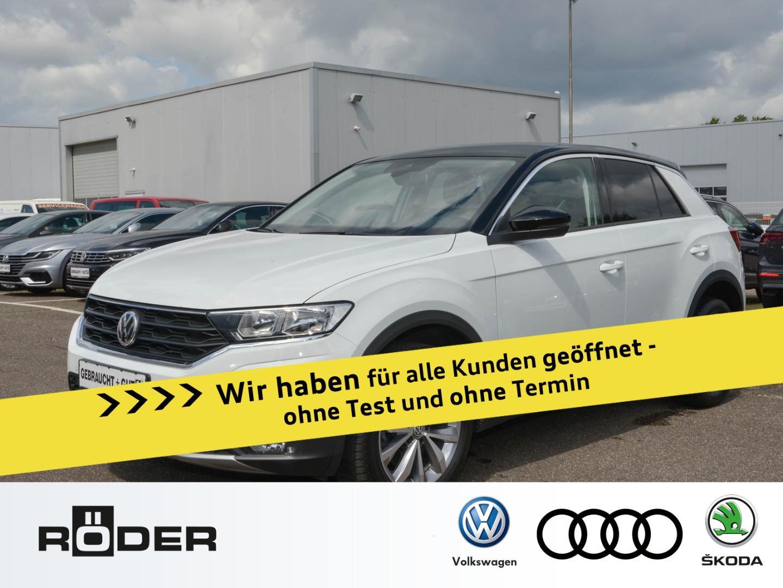 Volkswagen T-ROC Style 1.5 TSI Navi AHK Kamera ActiveInfo D, Jahr 2018, Benzin