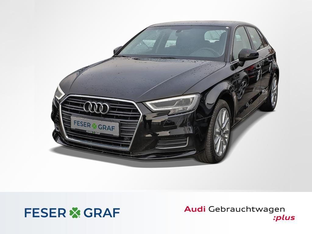 Audi A3 Sportback Design 2.0 TDI LED,Leder,Navi,v.coc, Jahr 2017, Diesel