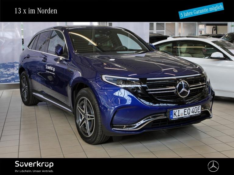Mercedes-Benz EQC 400 4M AMG +SCHIEBEDACH +ASSISTENZ-SYS +MBUX, Jahr 2020, Elektro