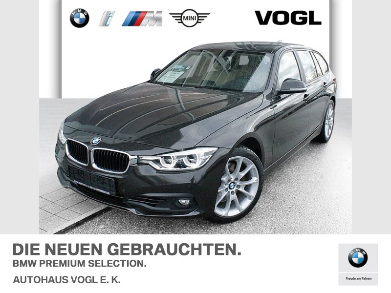 BMW 330d Touring Advantage Head-Up LED WLAN RFK AHK, Jahr 2017, Diesel