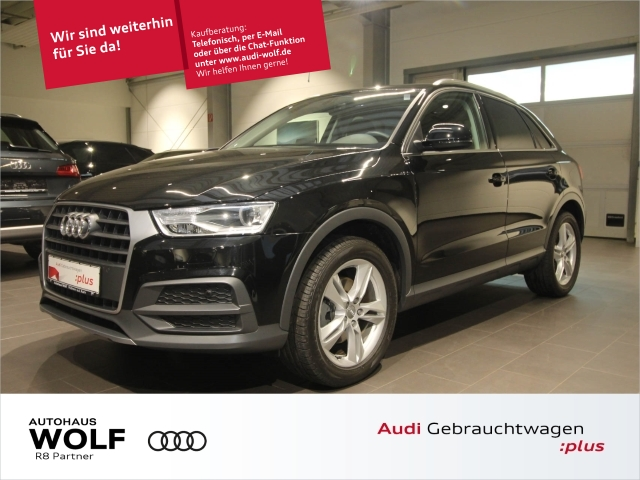 Audi Q3 1.4 TFSI Design S-tronic Navi+ Leder Pano, Jahr 2017, Benzin
