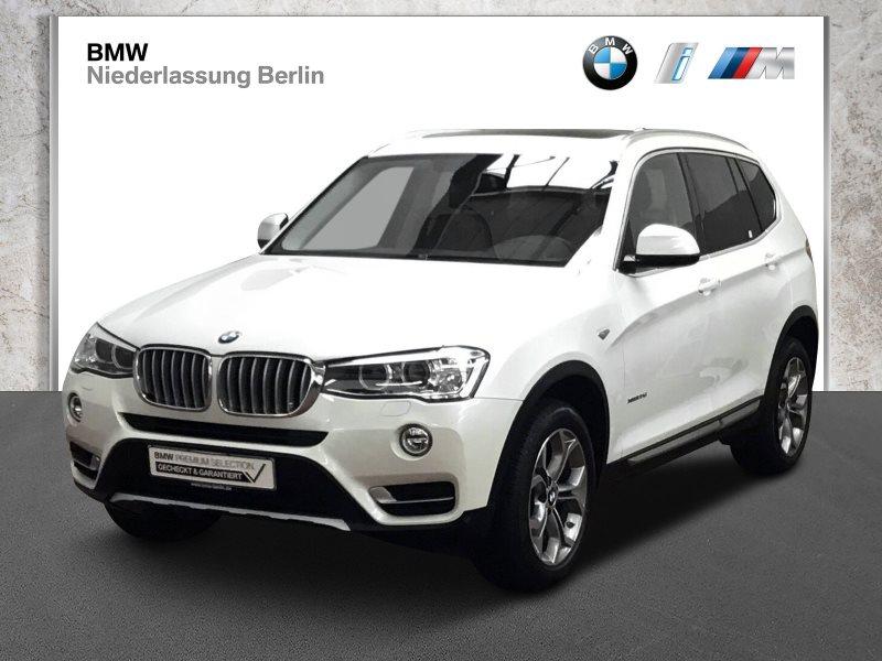 BMW X3 xDrive20d EU6 Aut. Xenon Navi Panoramadach, Jahr 2017, Diesel