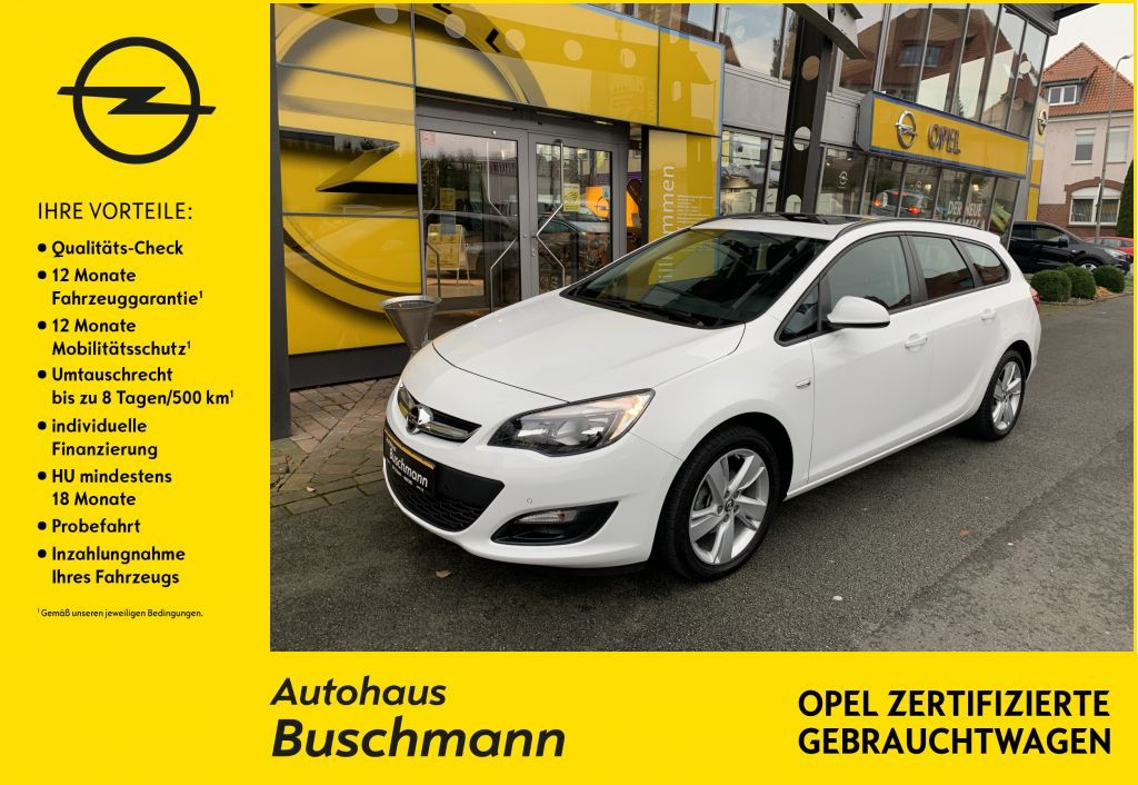 Opel Astra ST 1.4 Turbo Style, Jahr 2015, Benzin