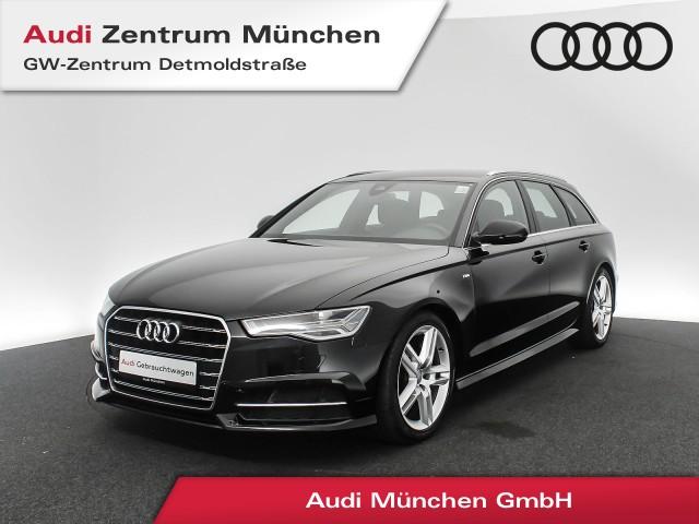 Audi A6 Avant 2.0 TDI S line Standhz. MatrixLED Luftfw. Navi Teilleder R-Kamera S tronic, Jahr 2017, Diesel