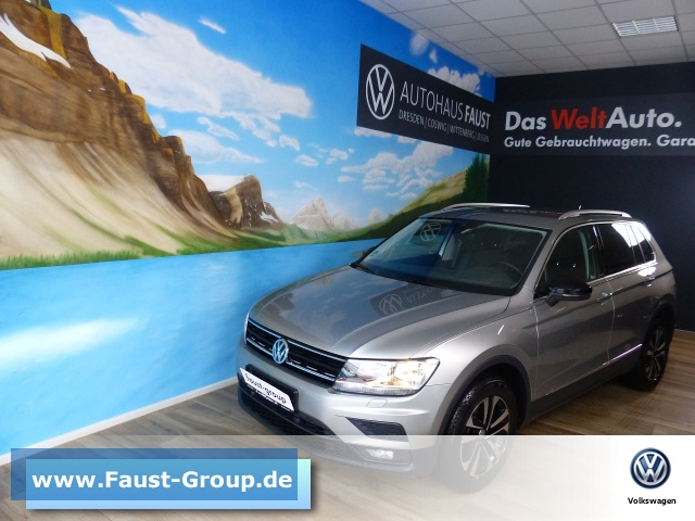 Volkswagen Tiguan IQ.DRIVE UPE41010 NAVI AHK ACC AppConnect, Jahr 2020, Diesel