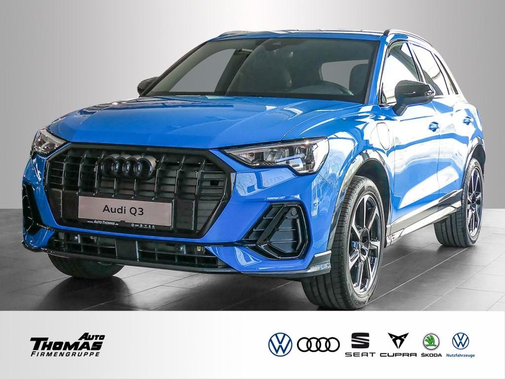 Audi Q3 45 TFSI e S line+NAVI+LED+PDC+KAMERA+CONNECT, Jahr 2021, Hybrid