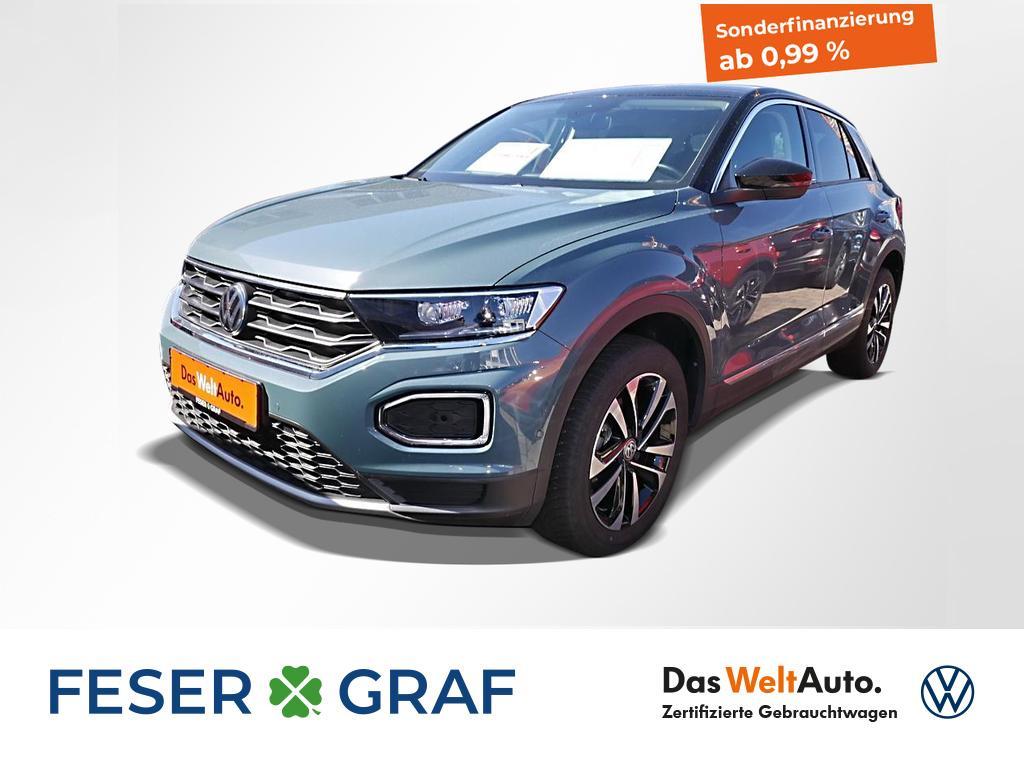 Volkswagen T-Roc IQ.DRIVE 1.5 TSI DSG Navi LED STHZ Kamera, Jahr 2020, Benzin