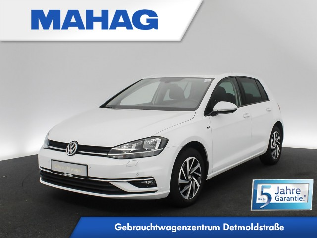 Volkswagen Golf VII 1.5 TSI JOIN Navi Sitzhz. ParkAssist FrontAssist 16Zoll DSG, Jahr 2019, Benzin