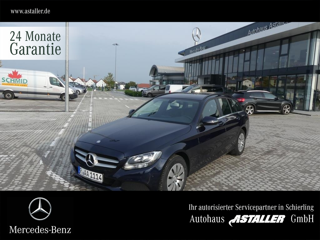 Mercedes-Benz C 180 T d Professional+Navi+PDC+el.Heckklap.+Alu, Jahr 2016, Diesel