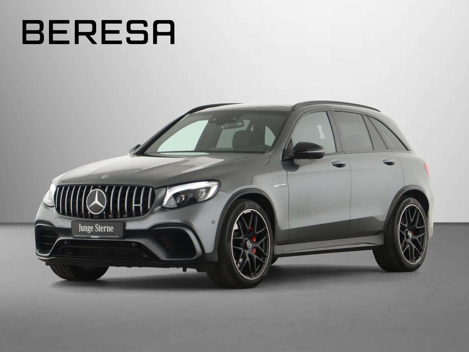 Mercedes-Benz GLC 63 AMG S 4M Designo Drivers P. Carbon, Jahr 2019, Benzin