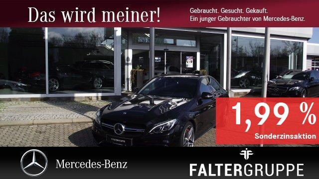 Mercedes-Benz C 63 S DISTRO Perf-Sitze/AbGas/Lenk Burmest Pano, Jahr 2017, Benzin