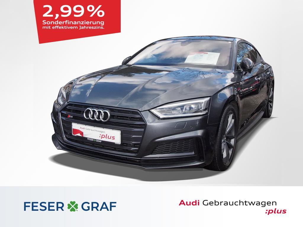 Audi S5 Sportback Pano/Virtual/HeadUp/S-Sportsitz/19`, Jahr 2018, Benzin