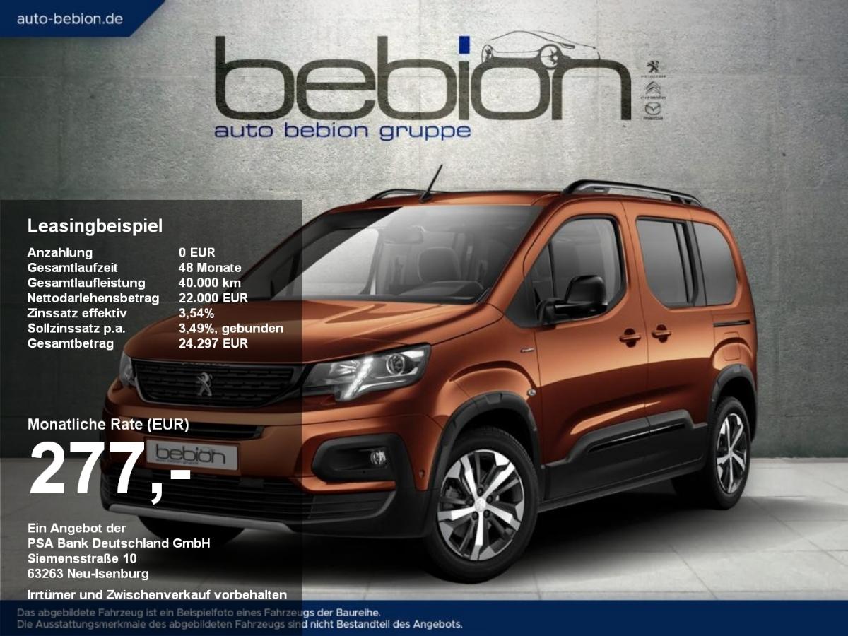 Peugeot RIFTER BlueHDI 100 L1 Active Pack Bremsass Spurh, Jahr 2021, Diesel