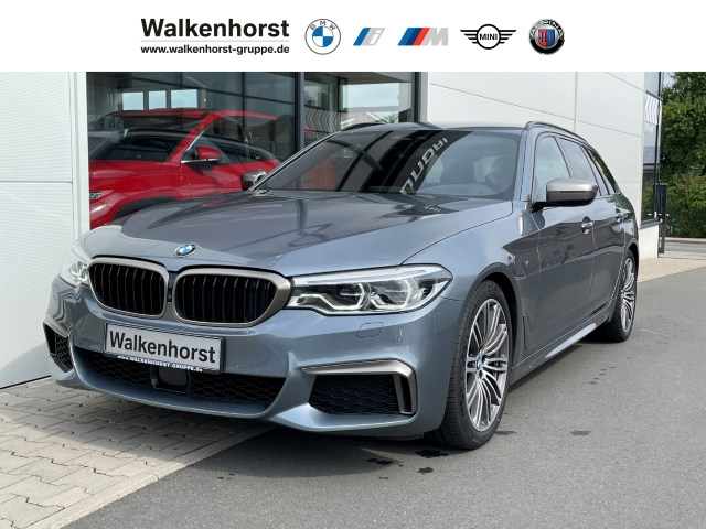 BMW M550 d xDr Tour AHK DrAss+ ParkAss+ HUD H/K DAB, Jahr 2018, Diesel
