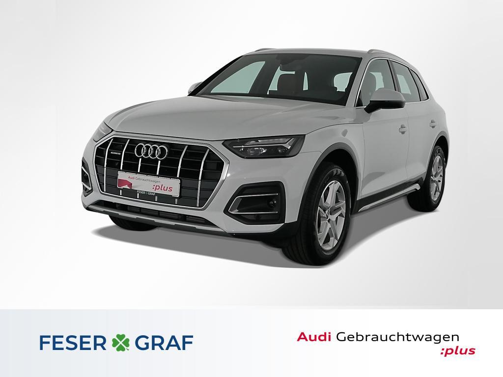 Audi Q5 Adv. 45TFSI q. Leder/Navi/ACC/Virtual/18 Zoll, Jahr 2020, Benzin