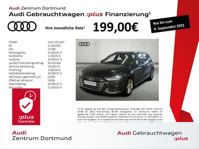 Audi A4 Avant 35TDI advanced ACC/STHZ/Massage/Navi+, Jahr 2020, Diesel