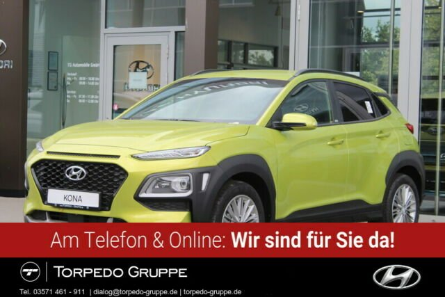 Hyundai KONA 1.0 T-GDi YES!+NAVI+LED+KAMERA+HEAD-UP+SHZ+, Jahr 2019, Benzin