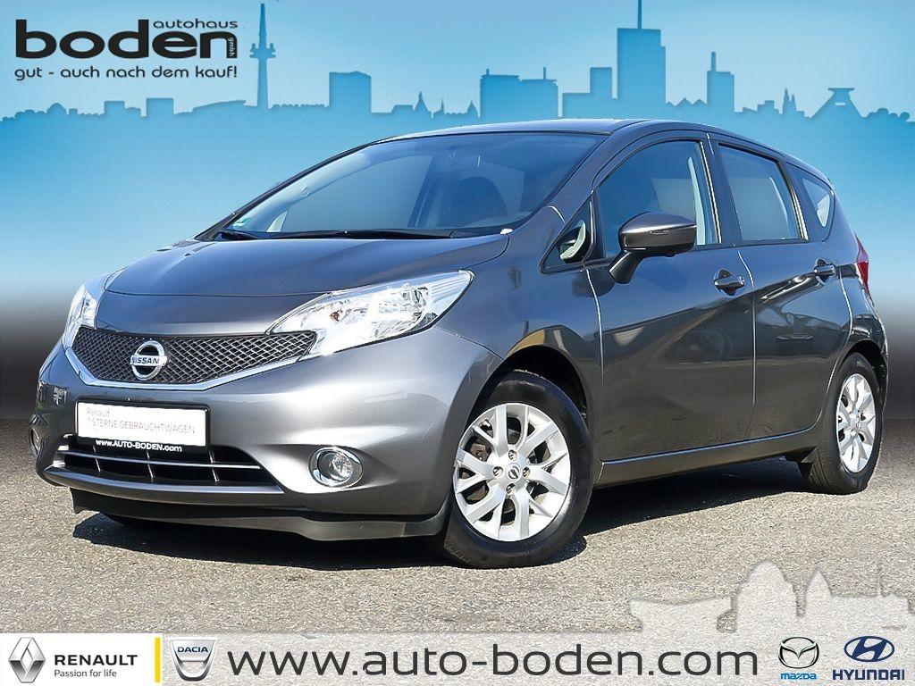 Nissan Note 1.2 Acenta KLIMA NAVI 360°Kamera, Jahr 2014, Benzin