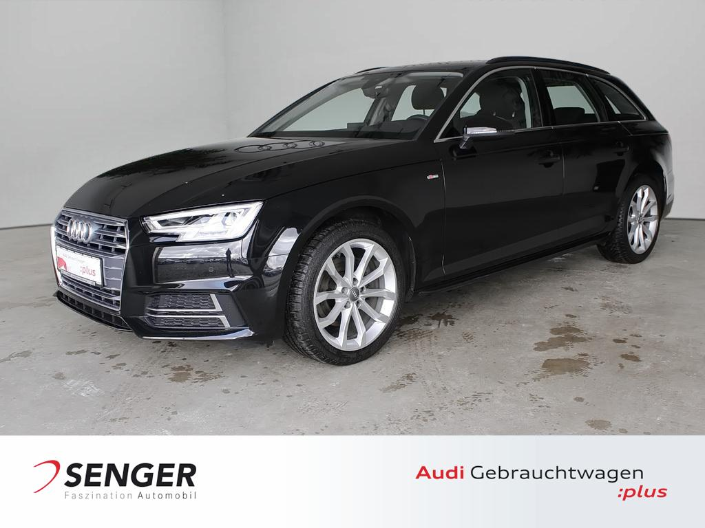Audi A4 Avant Sport 2.0 TFSI Navi Auffahr-Warnsystem, Jahr 2018, Benzin