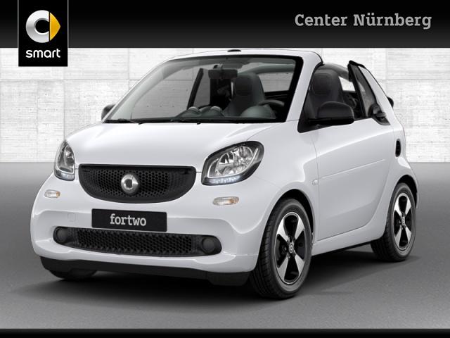 smart fortwo cabrio 52kW passion DCT cool&Audio SHZ PDC, Jahr 2019, Benzin