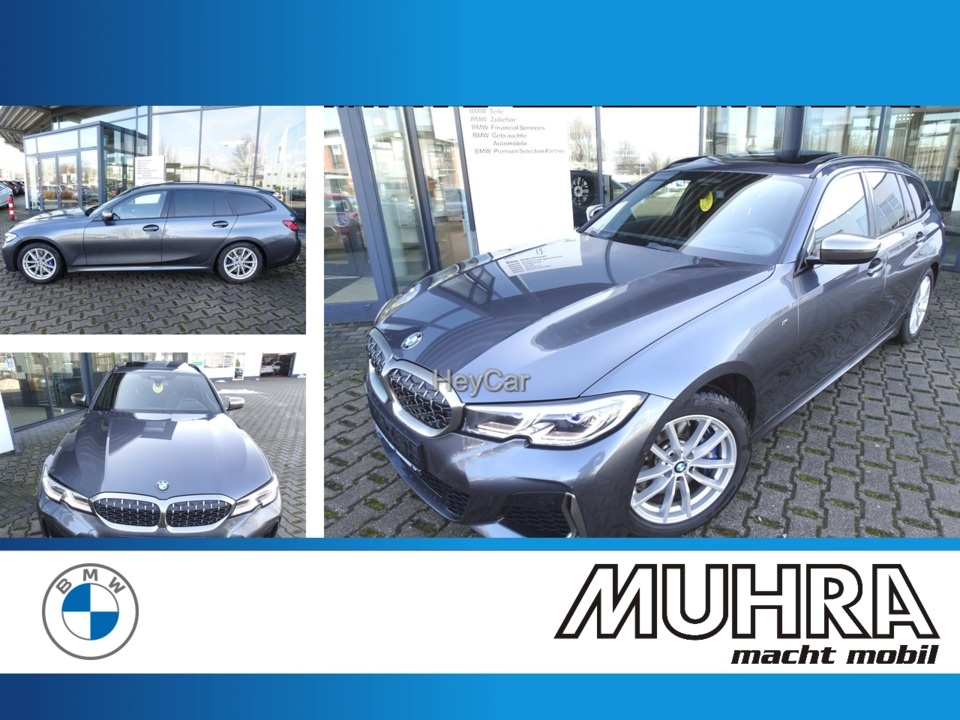 BMW M340i Touring Pano Head up DAB LCP Leder Laser, Jahr 2020, Benzin
