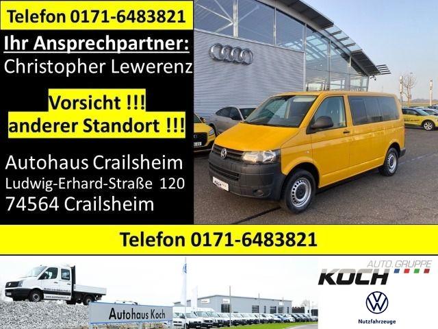 Volkswagen T5 Caravelle Trendline 2.0 TDI 8 Sitzer AHK abgedunkelte Scheiben, Jahr 2014, Diesel