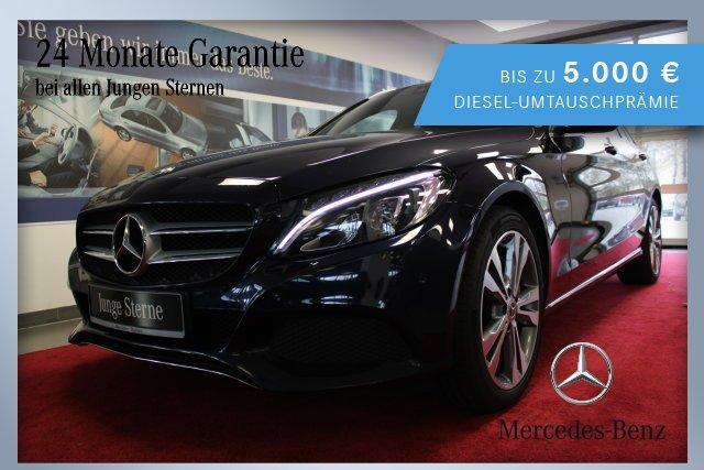 Mercedes-Benz C 250 d T-Modell AVANTGARDE Exterieur+LED+Autom., Jahr 2017, Diesel